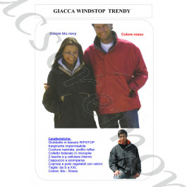 Giacca Windstop TRENDY