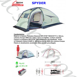 Tenda Igloo SPIDER 2 Bertoni tende