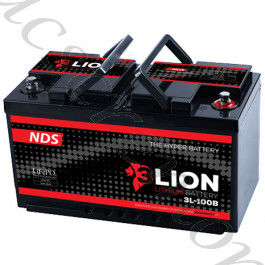 BATTERIA AL LITIO 12V-150Ah NDS Energy L-150 3LION con BMS