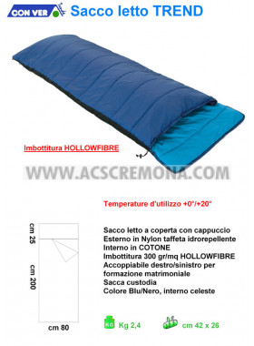 Sacco letto TREND HOLLOWFIBRE Conver