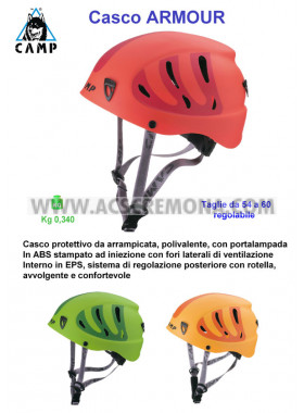 Casco montagna ARMOUR CAMP