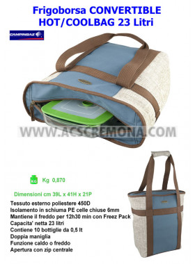 Frigoborsa CONVERTIBLE HOT/COOLBAG 23 Camping Gaz