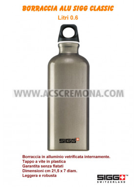 Borraccia Traveller SIGG 0.6 lt Smoked grey