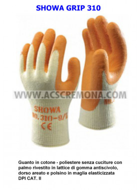 GUANTI SHOWA GRIP 310