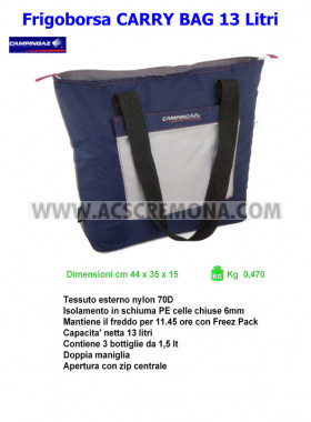 Frigoborsa CARRY BAG 13 Dark Blue Camping Gaz