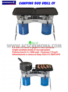 Fornello CAMPING DUO GRILL CV Camping Gaz