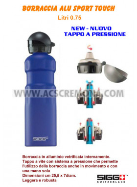 Borraccia SPORT TOUCH SIGG 0.75L BLU
