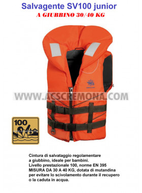 Salvagente SV 100 junior 30-40 kg