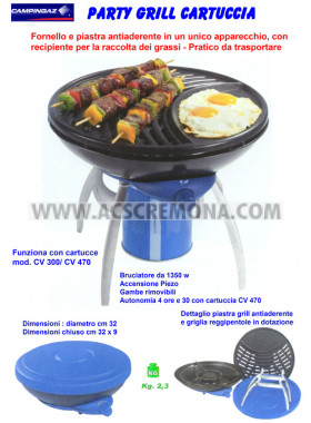 Grill PARTY GRILL PZ CAMPING GAZ