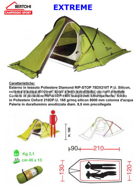 Tenda Igloo XTREME Bertoni tende