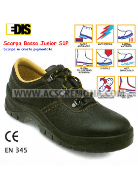 SCARPA ANTINFORTUNISTICA EDIS JUNIOR BASSA nera S1P