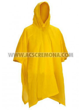 Poncho mantella impermeabile PVC LIGHT YELLOW